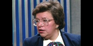 Barbara Mikulski on Meet the Press, 1983